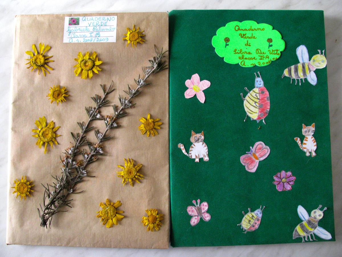 Realizzazione di quaderni Verdi